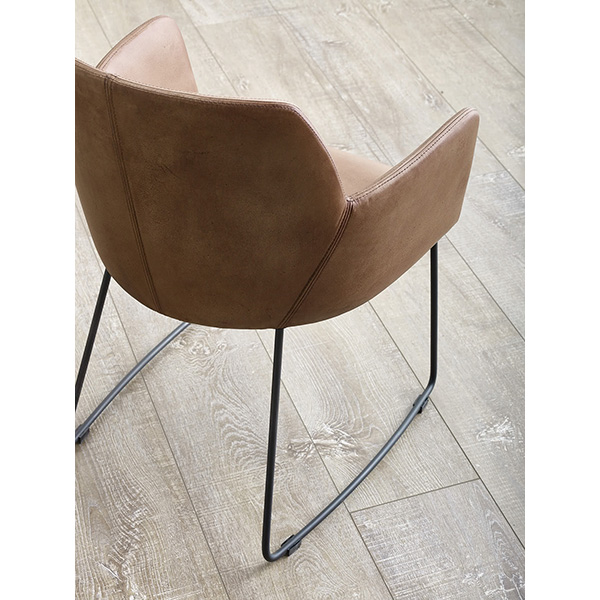 Lincoln Dining Chair Leather or Fabric