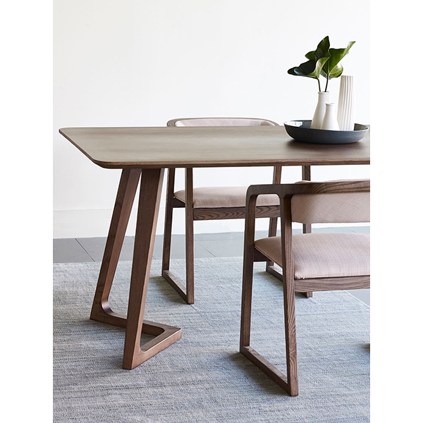 Austin Dining Table - Walnut or Blond Timber